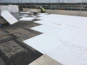 Tapered Insulation Installation