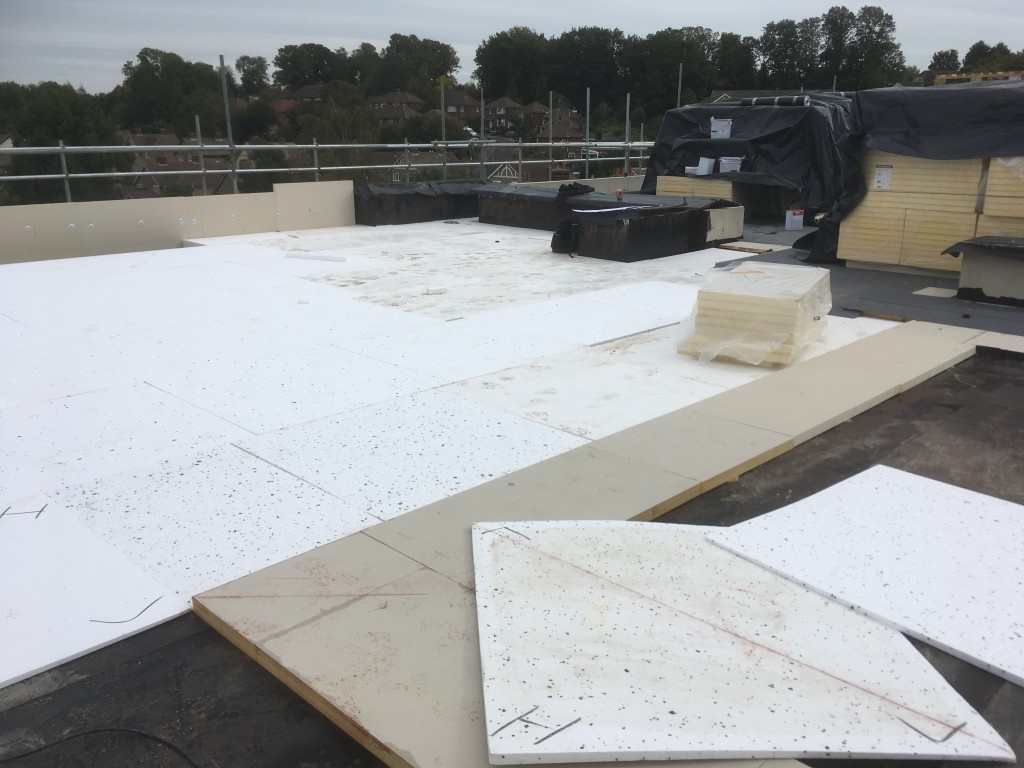 Tapered Insulation Installation to BS6229