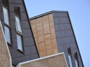 Barchester Street Poplar Zinc Cladding