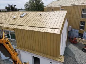 Zinc Roof Buildups