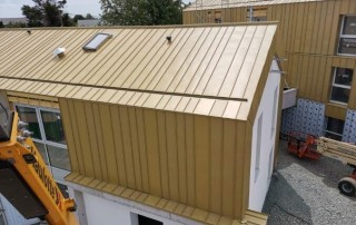 Zinc Roof Buildups